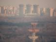 Погода не способствовала очищению воздуха в Киеве