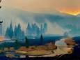 Популярному национальному парку в США угрожают два огромных пожара