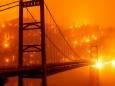 На півдні Каліфорнії оголосили евакуацію через масштабні пожежі