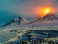 На Камчатке продолжается интенсивное эксплозивное извержение вулкана Ключевская сопка