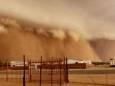 Великомасштабна пилова буря накрила місто в Південній Африці