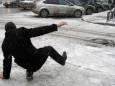 Желтый уровень опасности: в Киеве и ряде областей в субботу прогнозируют гололед