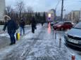Гололед в Киеве: за выходные травмировались почти 1400 человек