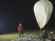 Північне сяйво зняли за допомогою метеозонда