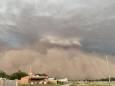 На Аргентину обрушилась песчаная буря