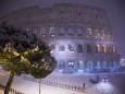 Север Италии засыпало снегом