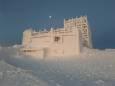 Обсерватория на горе Поп Иван превратилась в сказочный дворец. Фото