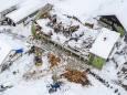 На юг Австрии обрушились снегопады
