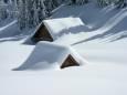 В Северной Италии выпало 2 метра снега. Видео