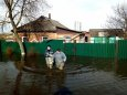 На Закарпатье затопило микрорайон. Видео