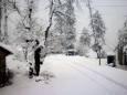 Северо-запад Пакистана накрыл сильный снегопад