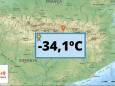 В Испании зафиксирована самая низкая температура за всю историю