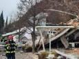 Оползень в Альпах засыпал отель тоннами камней