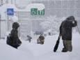 В Японии за 24 часа выпало до метра нового снега