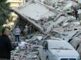 В Греции произошло обрушение скал в результате мощной непогоды