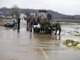 Наводнения вызвали эвакуацию в Юго-Восточной Европе