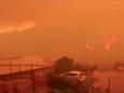 Тысячи людей эвакуированы из-за лесных пожаров в Чили