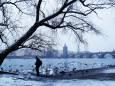 Большую часть Европы накрыли экстремальные холода