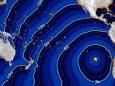 В южной части Тихого океана произошло сильное землетрясение