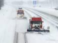 Снежный шторм «Дарси» обрушился на Нидерланды