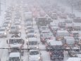 В Киеве в ближайшие дни продолжатся снегопады, ожидаются морозы и сильный ветер
