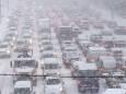 У Києві в найближчі дні триватимуть снігопади, очікуються морози і сильний вітер