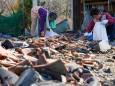 В Японии в районе Фукусимы произошли два мощных землетрясения