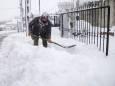 На полуострове Аттика в Греции прошел самый сильный снегопад за 40 лет