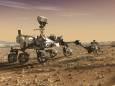 Марсоход NASA Perseverance прислал на Землю первые цветные фото