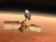 NASA показало покрытые инеем дюны на Марсе