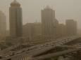 Пекин снова накрыла песчаная буря. Фото