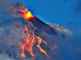 На Сицилии бушует вулкан Этна