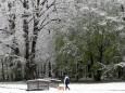 В Словении ударили рекордные морозы