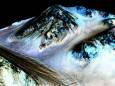 NASA показало «сині» дюни на Марсі