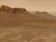 Жидкая вода на Марсе могла существовать благодаря ледяным облакам