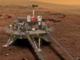 Китайский марсоход впервые сел на поверхности Красной планеты