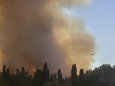 Лесные пожары бушуют на холмах недалеко от Иерусалима