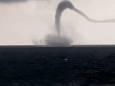 Дуже дивний торнадо був помічений біля берегів Одеси. Відео