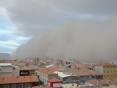 Гігантська хмара пилу занурила у темряву місто в Туреччині