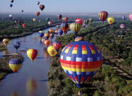 Під Києвом стартував фестиваль повітряних куль