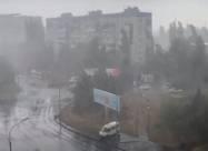 В Одессе прошел мощный ливень с грозой