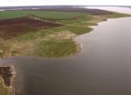 В Харьковской области пересыхает водохранилище