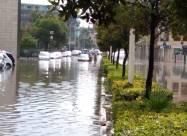 На Сардинии проливные дожди вызвали потоп
