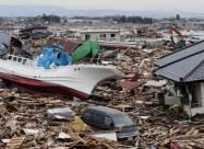 ВІДЕО. Жахливі кадри руйнівного цунамі в Японії