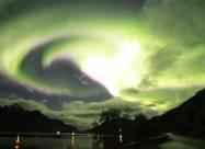 Геомагнітний шторм викликав спалах полярних сяйв