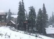 На Драгобраті випав сніг