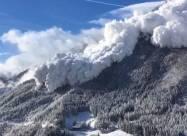 ВИДЕО. Самые мощные снежные лавины, снятые на камеру