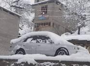 Рекордный ноябрьский снегопад высотой 92 см обрушился на северный Пакистан