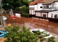 В Израиле начались наводнения после одного из самых дождливых дней в истории страны