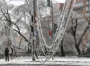 Крижаний дощ у Владивостоці